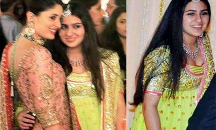 kareena kapoor reveals step daughter sara khan s career
