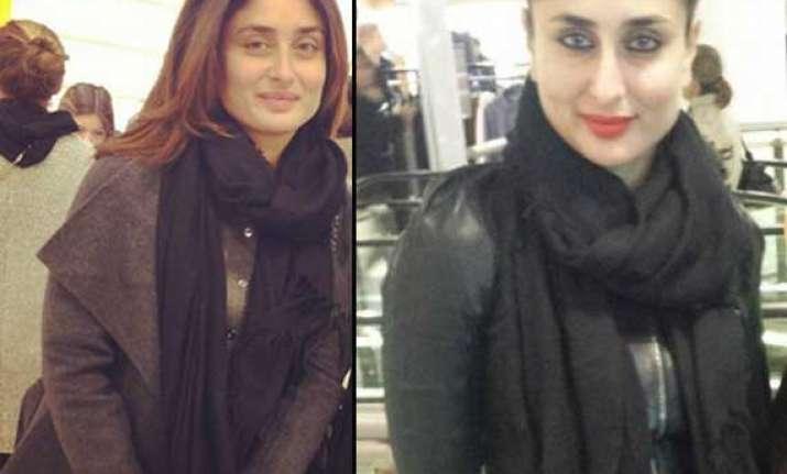 kareena shopping in london ahead of her wedding anniversary