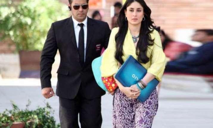 kareena to honor real life bodyguards