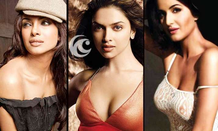 kat priyanka deepika in race for dhoom3