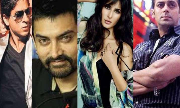 katrina to work will all three khans