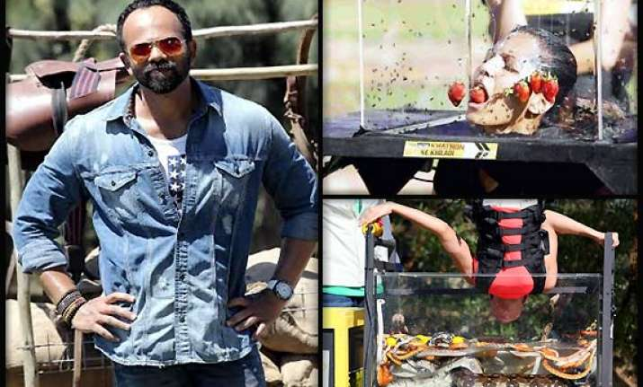 rohit shetty loves to push khatron ke khiladi contestants