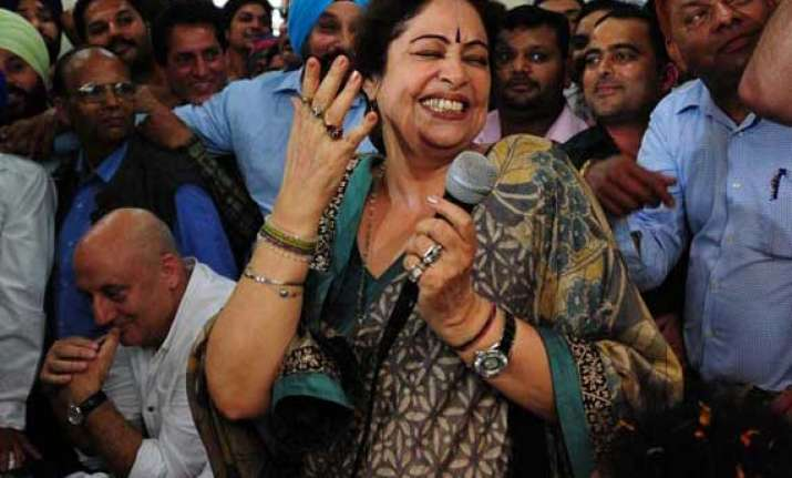 kirron kher trying to get film city for chandigarh