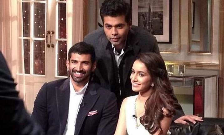 koffee with karan shraddha kapoor talks about fall out with