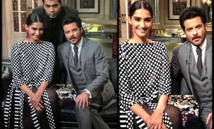 koffee with karan anil kapoor ordered sonam to follow just