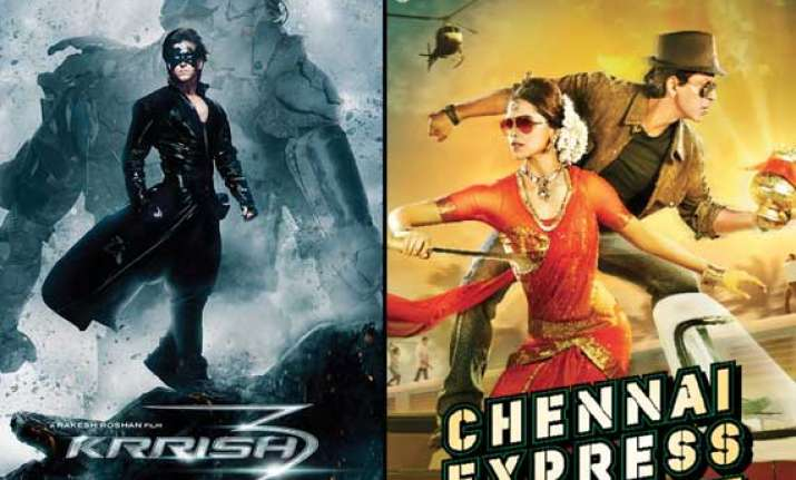 Krrish 3 beats chennai express at box office earns rs 166 cr in one week view pics - Krrish box office collection ...