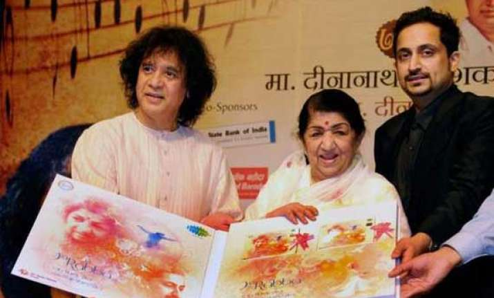 lata releases first sufi album credits nephew