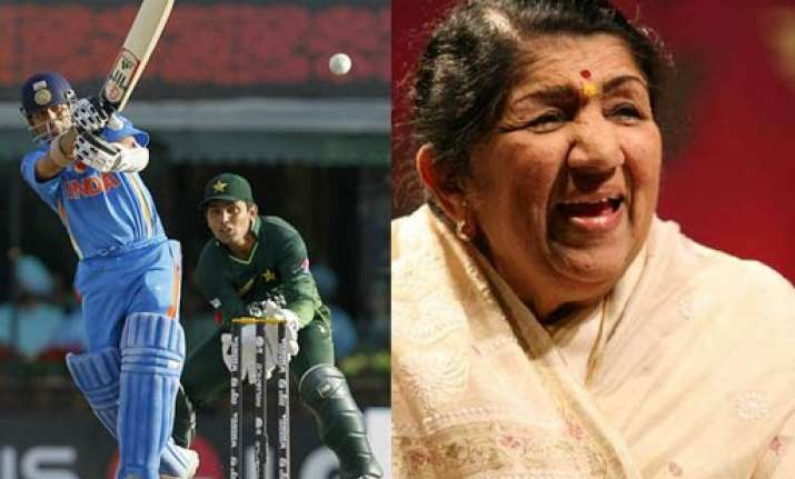 lata fasted for team india during 9 hour mohali match