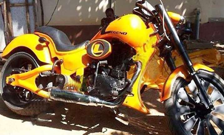 legend bike might get auctioned for a cause