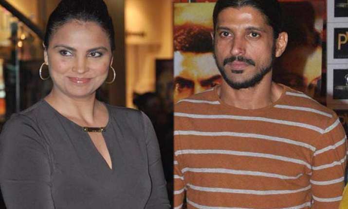 like talaash but farhan akhtar is hot tweets lara dutta