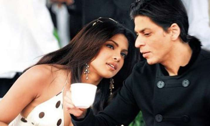 love hate relationship between srk and me in don 2 priyanka