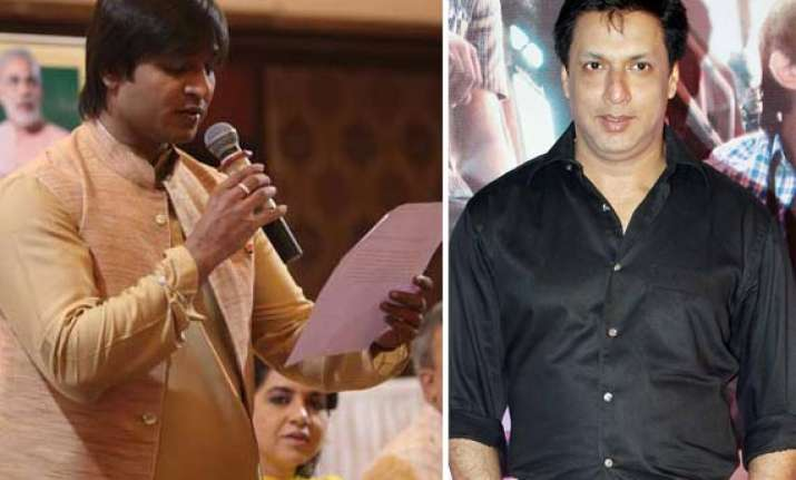 madhur bhandarkar vivek oberoi come out in support of modi