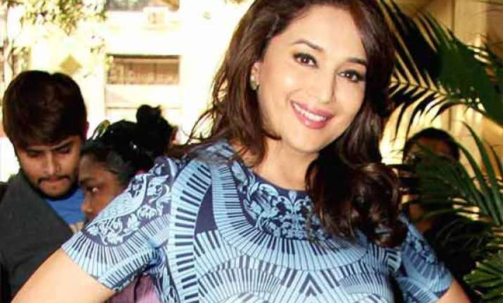 madhuri dixit never struggled for anything in her life