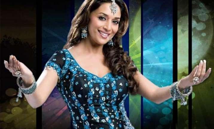 madhuri turns down role in rajni s rana