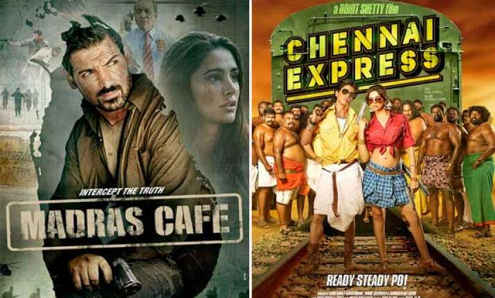 madras cafe leaves behind chennai express at box office