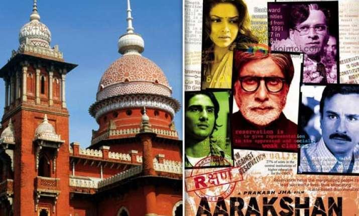 decks cleared for screening of aarakshan