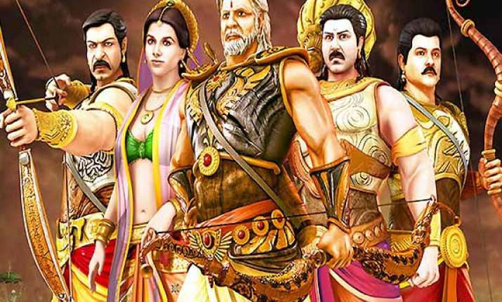 mahabharat 3d movie review animation arrested