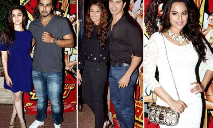 main tera hero success bash alia arjun make a couple nargis