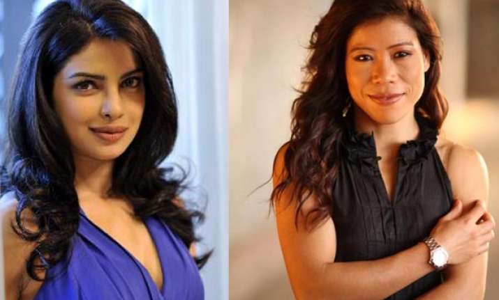 mary kom happy about priyanka playing her role in biopic