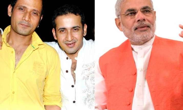 meet brothers anjaan compose song for narendra modi