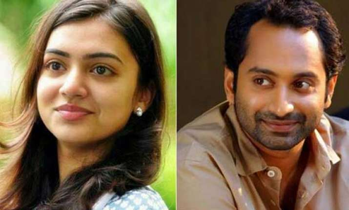 mollywood actor fahad fazil engaged to nazriya nazim
