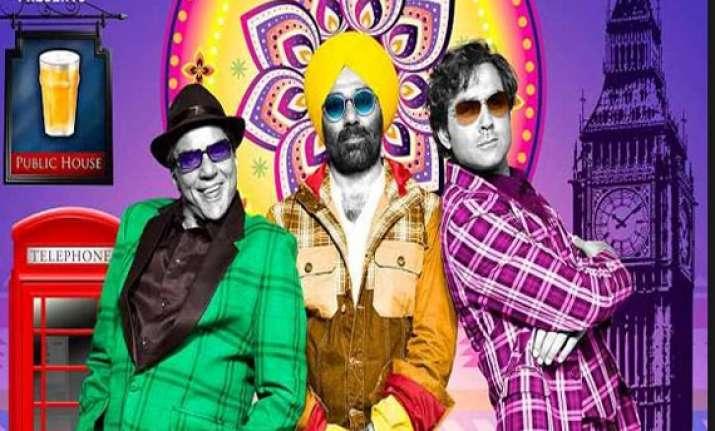 movie review yamla pagla deewana 2 unabsorbing comedy drama