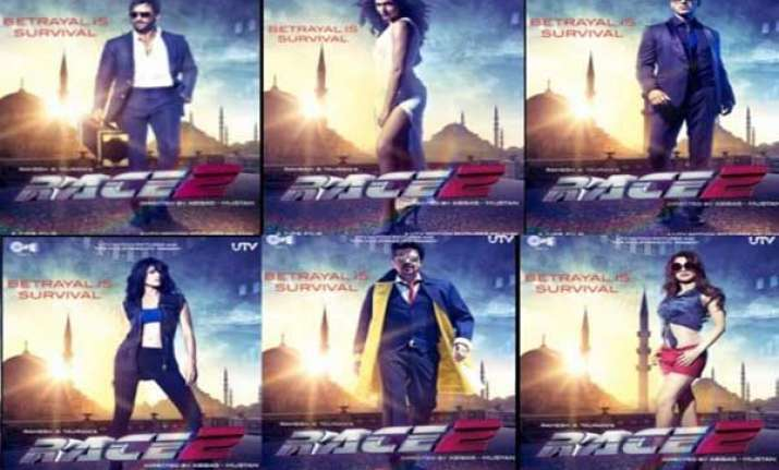 movie review race 2 just a blend of glamorous stars