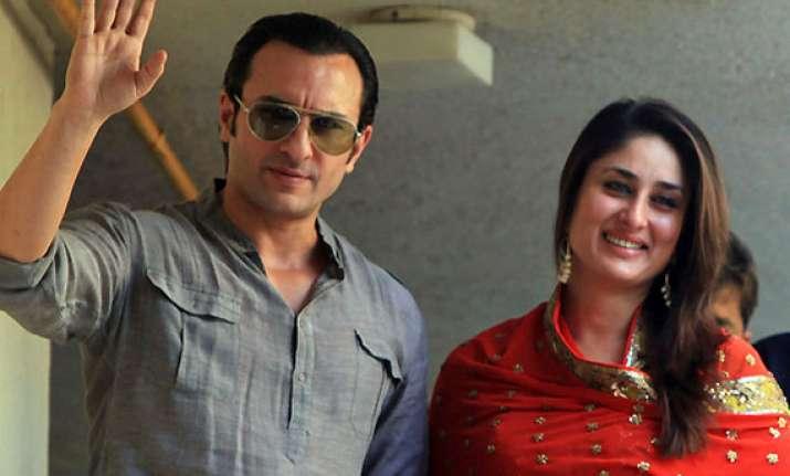 mughal theme for saif kareena s big fat dawat e walima today
