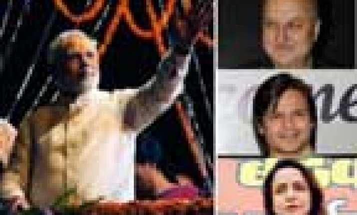 narendra modi s swearing in ceremony hema madhur vivek