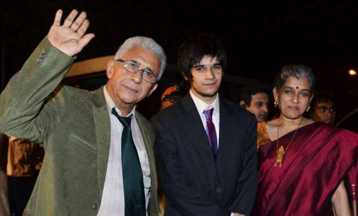 naseeruddin son vivaan to work in film on haji mastan
