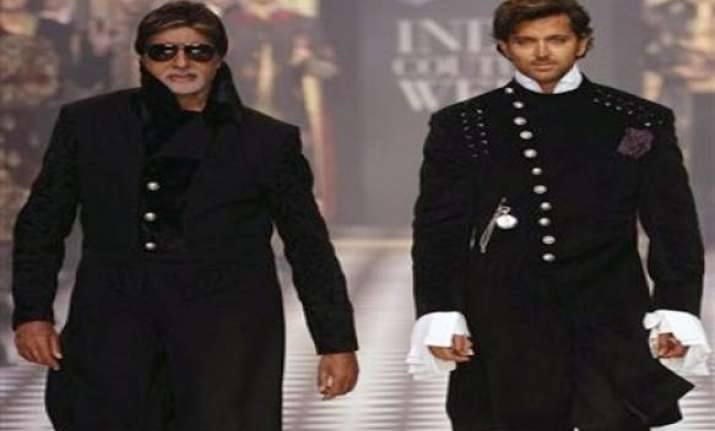 no comparison between big b and me says hrithik