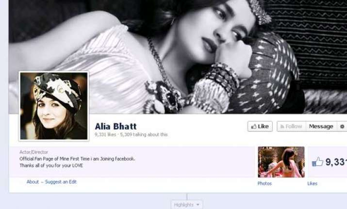 omg alia bhatt s verified facebook page is fake