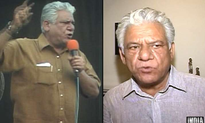 om puri apologises for controversial remarks against
