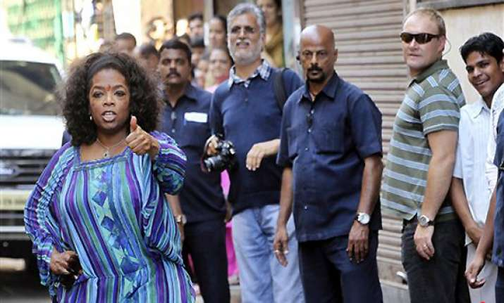 oprah amazed with india s tolerance levels joint families
