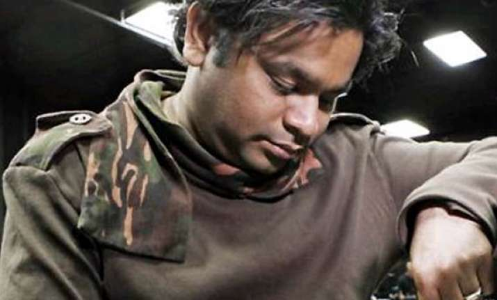 oscar winner a.r. rahman s la home vandalised