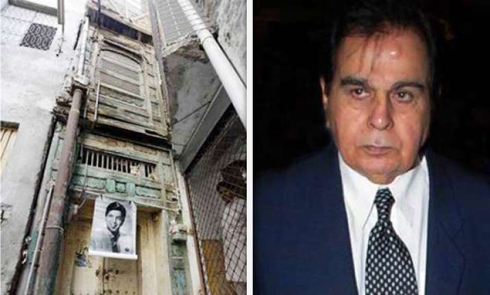 pak turning dilip kumar s ancestral home into heritage site