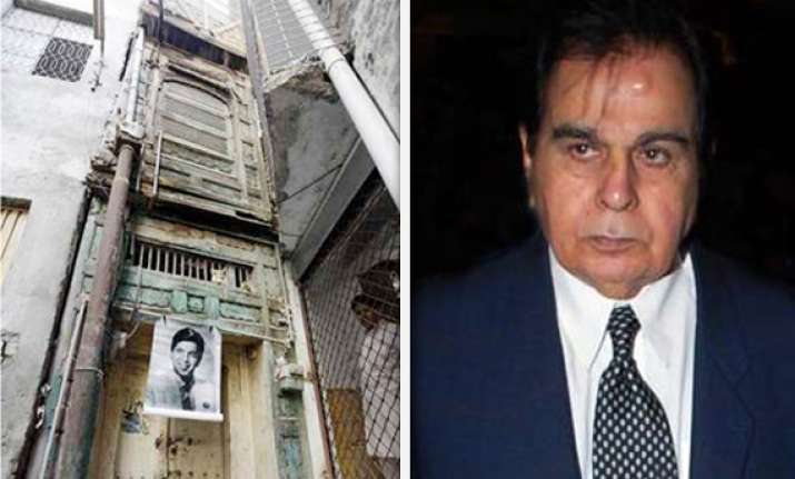 pak turns dilip kumar s ancestral home into heritage site