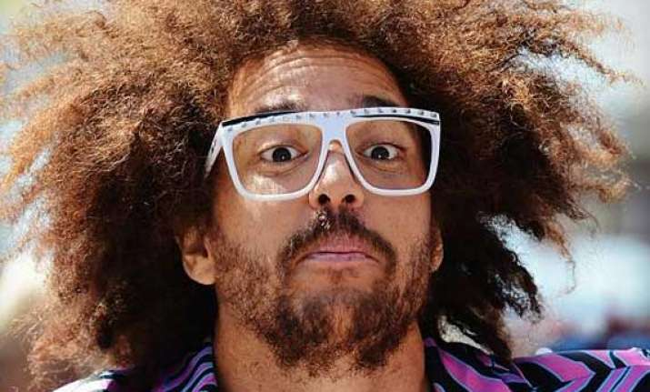 pop star redfoo is in love with indian food and music