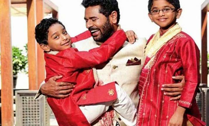 prabhudheva s surprise holiday plan for sons spoilt