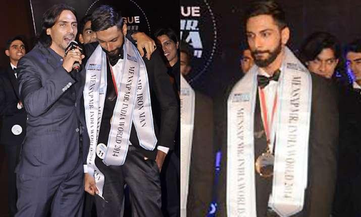 arjun rampal inspires mr.india 2014 prateik jain see pics