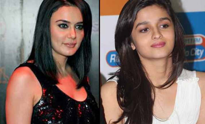 preity admires alia for highway says will be brightest star