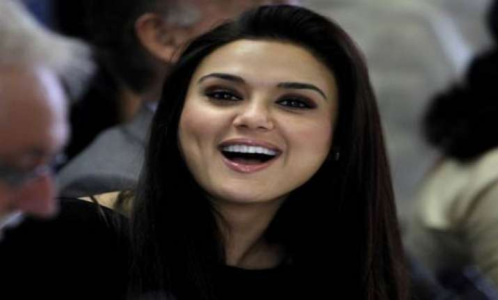 preity to do a dimpled gangster role