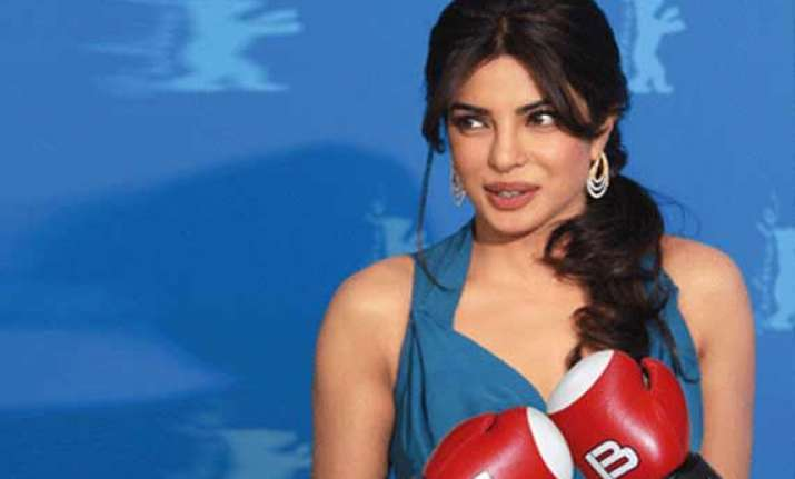 priyanka chopra fought real boxers in mary kom