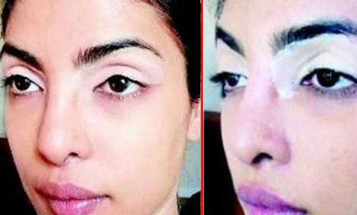 priyanka chopra s look for mary kom biopic leaked view pics
