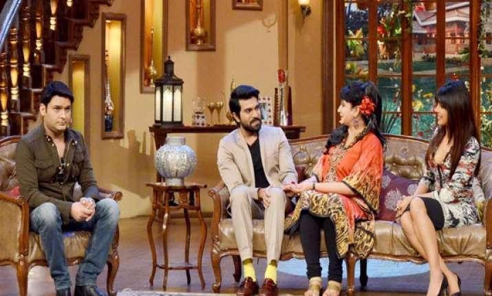 priyanka chopra promotes zanjeer on comedy nights with