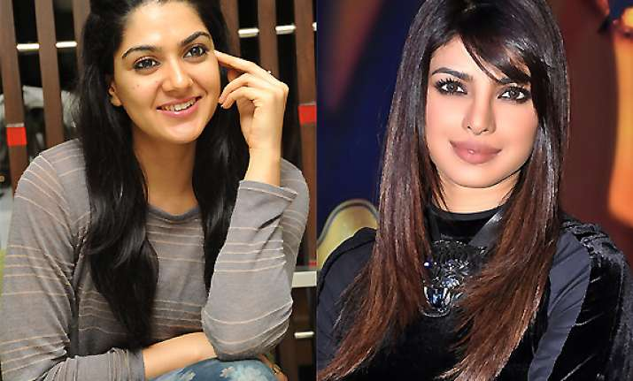 newbie sakshi chaudhary to play priyanka chopra in 67 days