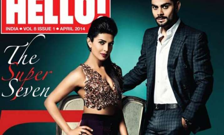 not anushka sharma but priyanka chopra pairs with virat