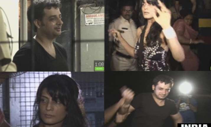 punjabi actor paramjit sandhu girlfriend create scene after