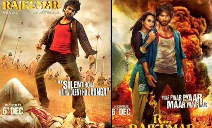 r... rajkumar trailer out shahid kapoor hits hard view