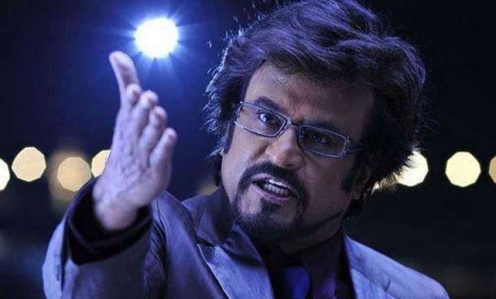rajini to act in india s first 3d film